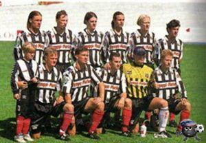 Поннистус Хельсинки 1995 верхний ряд первый справа